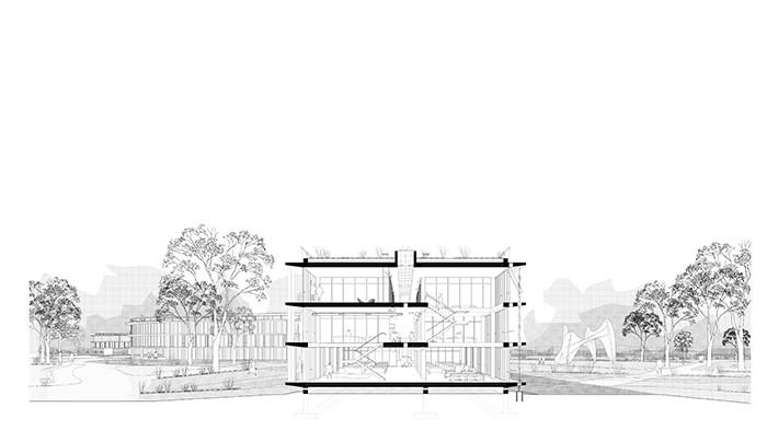 Centro Administrativo Provincial en la Ciudad de Rawson